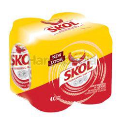 Skol Beer 4x320ml