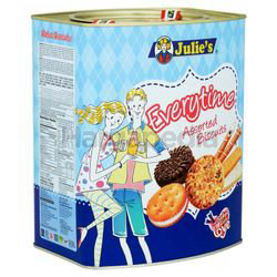 Julie's Everytime Assorted Biscuit 530gm