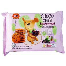 Lee Choco Chips Blackcurrant Biscuits 160gm