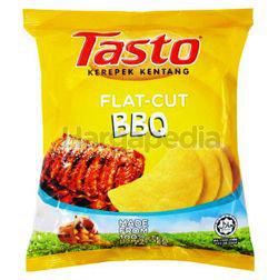 Tasto Flat Cut Potato Chips BBQ 55gm
