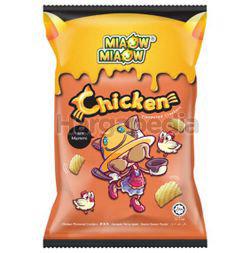 Miaow Miaow Chicken Crackers 60gm