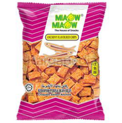 Miaow Miaow Anchovy Flavoured Chips 100gm