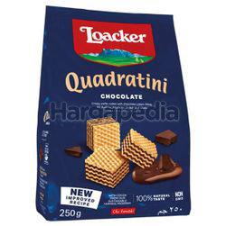 Loacker Quadratini Wafer Chocolate 250gm