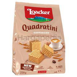 Loacker Quadratini Wafer Cappuccino 220gm