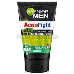 Garnier Men Acno Fight Wasabi Brightening Foam 100ml