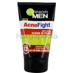 Garnier Men Acno Fight 6-in-1 Anti-Acne Foam 100ml