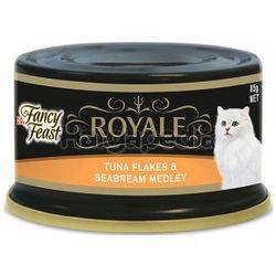 Fancy Feast Royale Tuna Flakes & Seabream Medley 85gm
