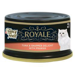 Fancy Feast Royale Tuna & Snapper Delight with Prawns 85gm