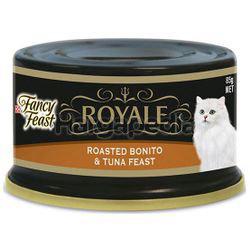 Fancy Feast Royale Roasted Bonito & Tuna Feast 85gm