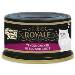 Fancy Feast Royale Tender Chicken in Seafood Sauce 85gm