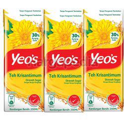 Yeo's Chrysanthemum Tea 6x250ml