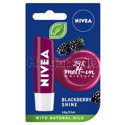 Nivea Blackberry Shine Caring Lip Balm 4.8gm