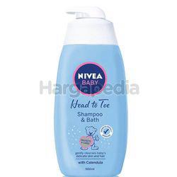 Nivea Baby Head to Toe Shampoo & Bath 500ml