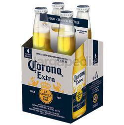 Corona Extra Bottle 4x355ml