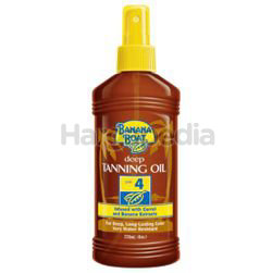Banana Boat Deep Tanning Oil SPF4 236ml