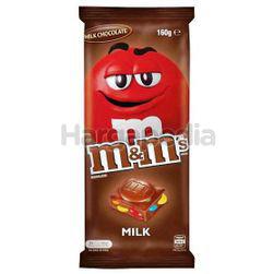 M&M's Milk Block Chocolate 160gm