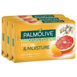 Palmolive Naturals Bath Soap Fresh & Moisture 3x80gm