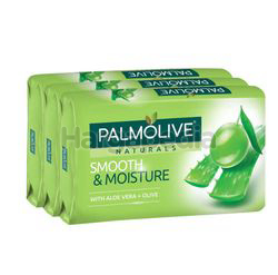 Palmolive Naturals Bath Soap Smooth & Moisture 3x80gm
