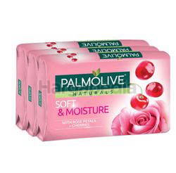 Palmolive Naturals Bath Soap Soft & Moisture 3x80gm