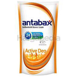 Antabax Antibacterial Shower Cream Refill Active Deo 550ml
