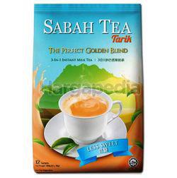Sabah Tea 3in1 Instant Teh Tarik Less Sweet 12x30gm
