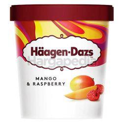 Haagen-Dazs Ice Cream Mango & Raspberry 473ml