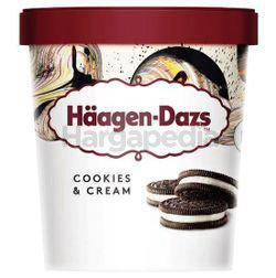 Haagen-Dazs Ice Cream Cookies & Cream 473ml
