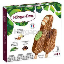 Haagen-Dazs Ice Cream Bar Assorted 3x80ml