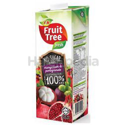 FruitTree Fresh 100% Juice Mangosteen Pomegranate 1lit