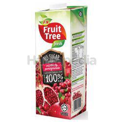 FruitTree Fresh 100% Juice Cranberry Pomegranate 1lit