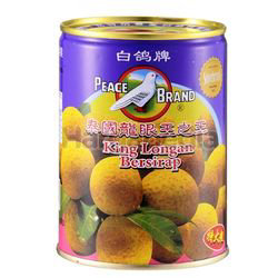 Peace Brand King Longan in Syrup 565gm