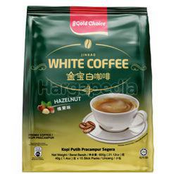 Gold Choice Jin Bao White Coffee Hazelnut 15x40gm