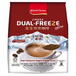 Gold Choice Jin Bao Dual-Freeze Latte Coffee 15x30gm