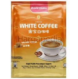 Gold Choice Jin Bao White Coffee Brown Sugar 15x35gm