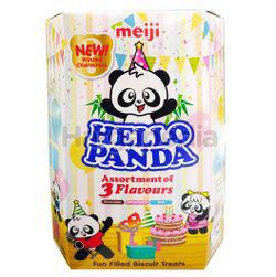 Meiji Hello Panda Coated Biscuit Assorted 260gm