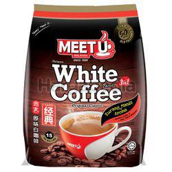Meet U 3in1 White Coffee Tarik 15x40gm