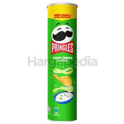 Pringles Potato Crisps Sour Cream & Onion 147gm