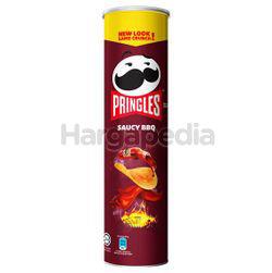 Pringles Potato Crisps Saucy BBQ 147gm