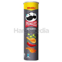 Pringles Potato Crisps Hot & Spicy 147gm