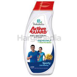 Shokubutsu Active Guard Anti-Bacterial Shower Foam Sporty 220ml