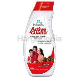 Shokubutsu Active Guard Anti-Bacterial Shower Foam Protect 220ml