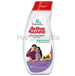 Shokubutsu Active Guard Anti-Bacterial Shower Foam Mild 220ml
