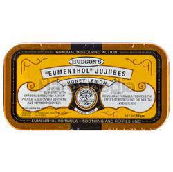 Hudson's Eumenthol Jujubes Honey Lemon 50gm