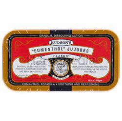 Hudson's Eumenthol Jujubes Classic 50gm