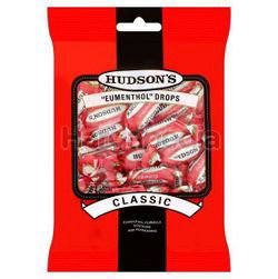 Hudson's Eumenthol Drops Classic 100gm