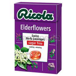 Ricola Swiss Herb Lozenges Elderflowers 45gm