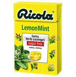 Ricola Swiss Herb Lozenges Lemon Mint 45gm