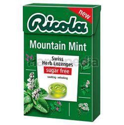 Ricola Swiss Herb Lozenges Mountain Mint 45gm