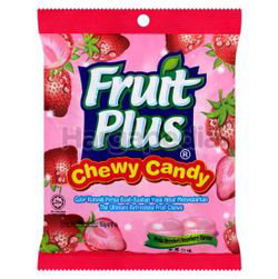 Fruit Plus Chewy Candy Strawberry 150gm