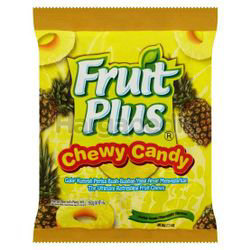 Fruit Plus Chewy Candy Pineapple 150gm